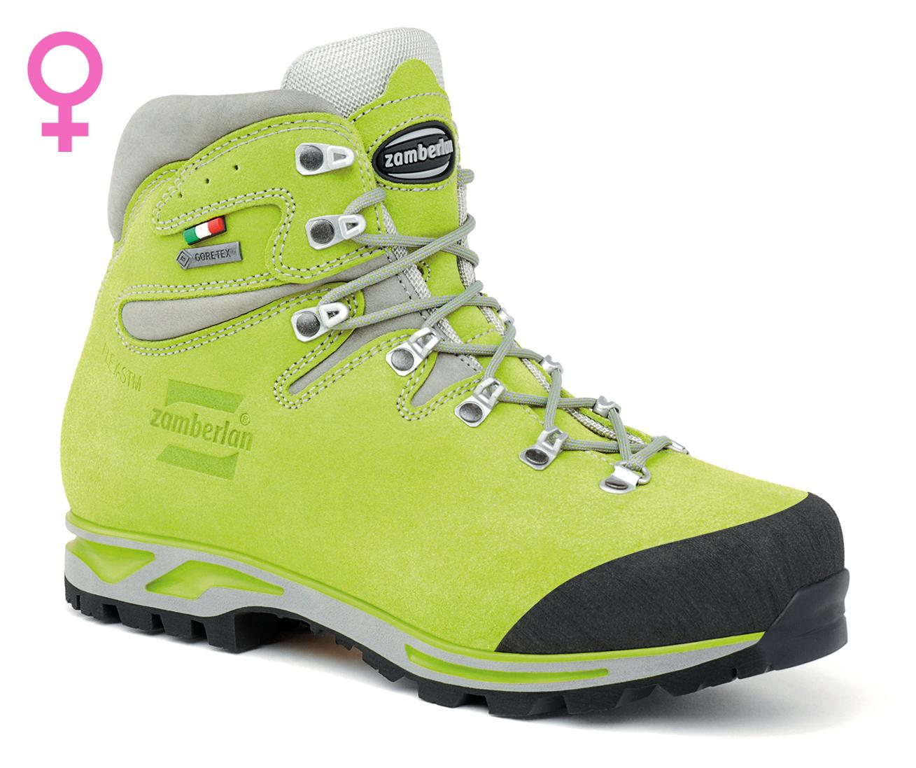 900 ROLLE GTX WNS   -   Hiking  Boots   -   Acid green