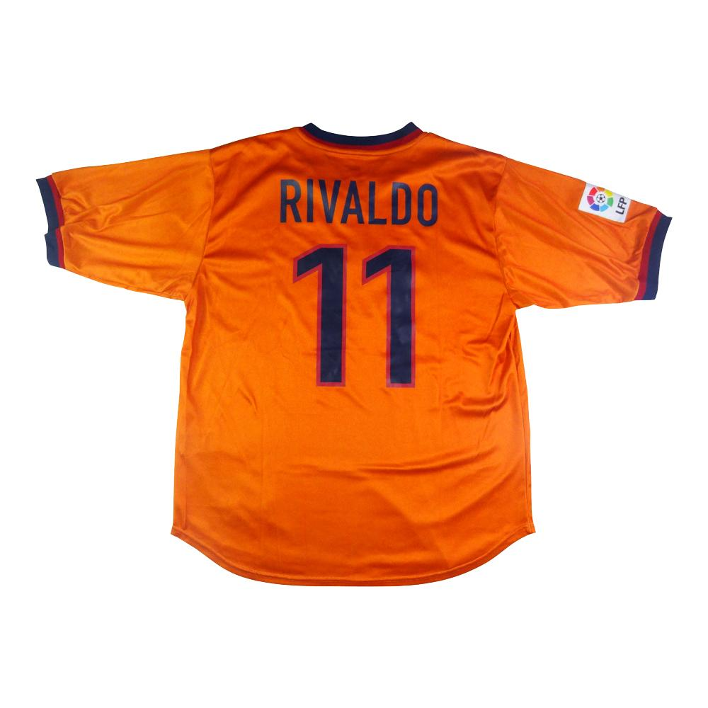 1998-00 Barcelona Maglia Terza #11 Rivaldo (Top)