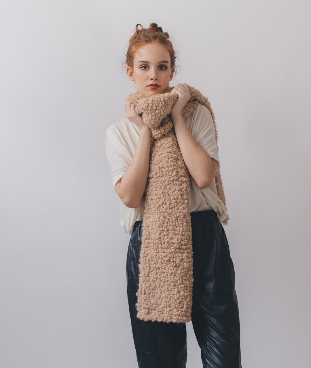 Scarves and Snoods - Wool - Big Loopy Scarf - 1