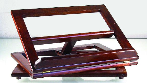 Leggio girevole in legno 28x34