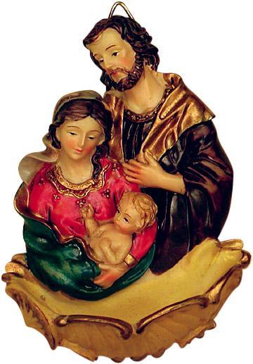Acquasantiera Sacra Famiglia