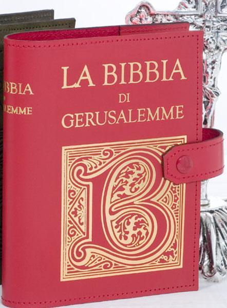 Copri Bibbia di Gerusalemme stampa oro