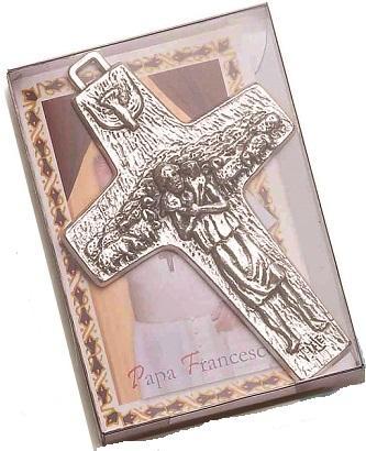 Croce Papa Francesco cm. 7