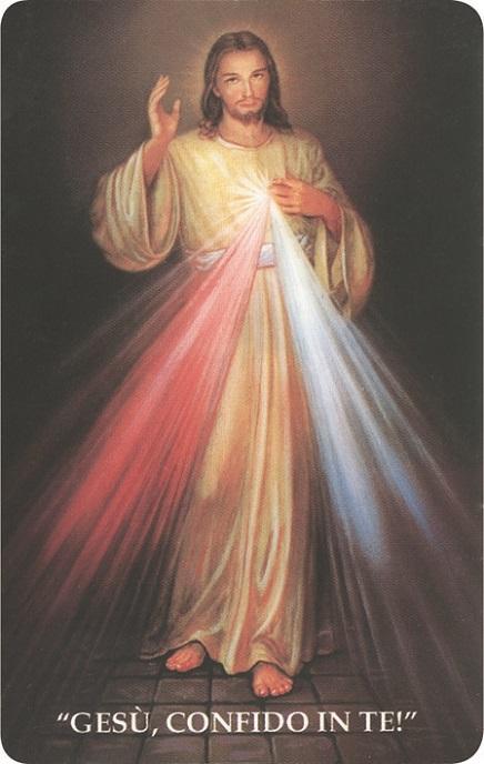 Immagine pvc Gesù Misericordioso