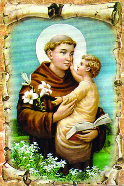 Immagine S. Antonio di Padova (100 pz)