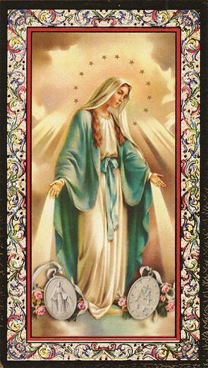 Immaginetta Madonna Miracolosa