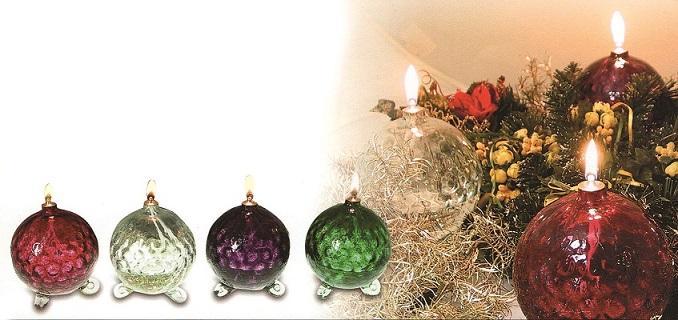 Lampada cristallo di Boemia cm. 14,5
