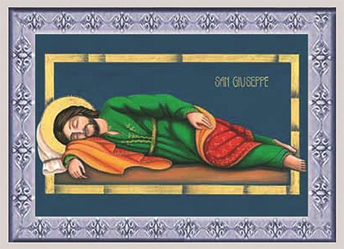 Quadretto S. Giuseppe dormiente