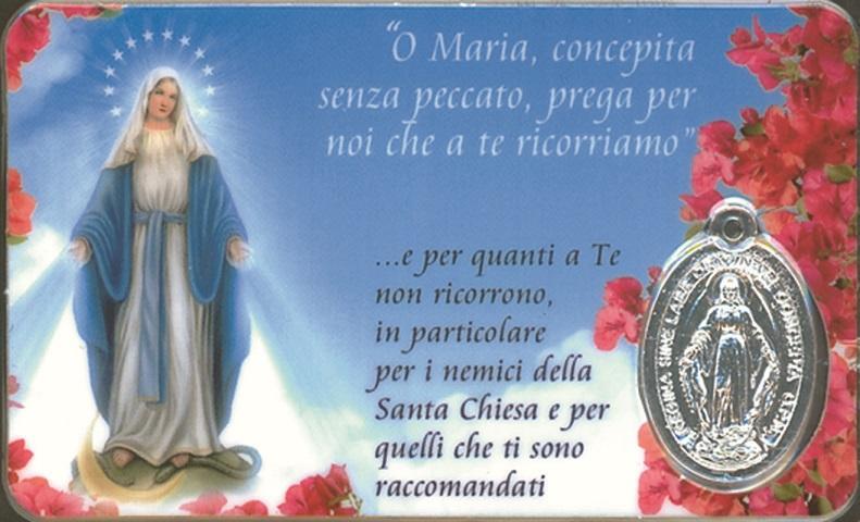 Tesserina Madonna Immacolata