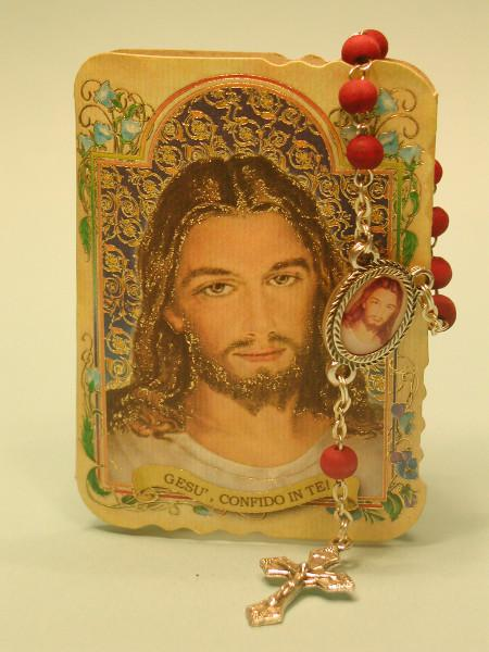 Decina profumata e libretto rosario