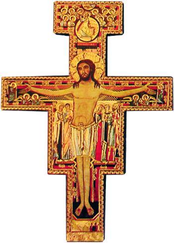 Francescana in legno cm. 14