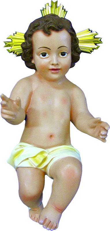 Gesù Bambino in resina cm. 20