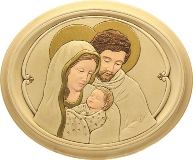 Quadro Sacra Famiglia 17x20,5