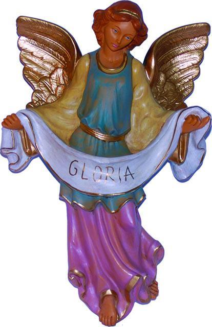 Angelo Gloria presepio cm. 53