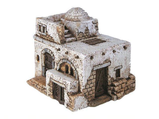 Casa araba media su pietra