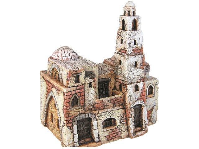 Casa araba grande con torre