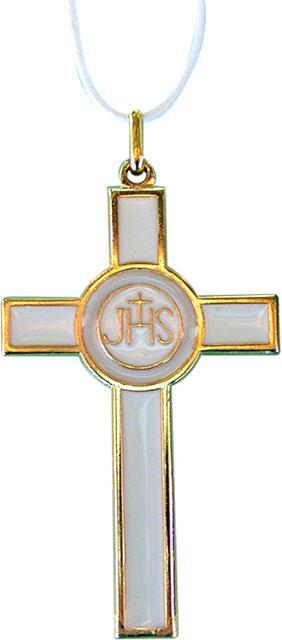 Croce comunione in metallo cm. 7,5