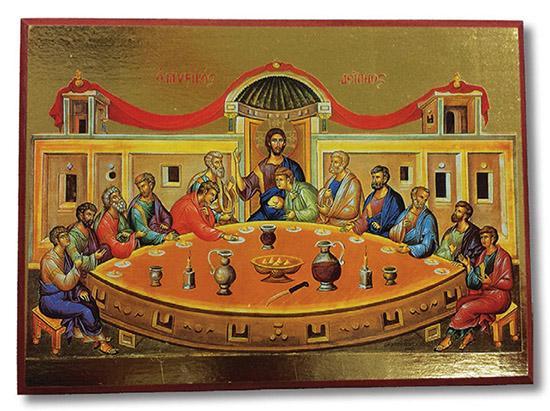 Icona greca Ultima Cena