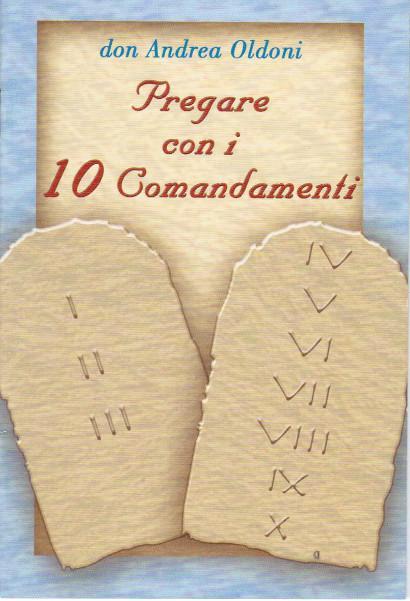 Libretto 10 comandamenti