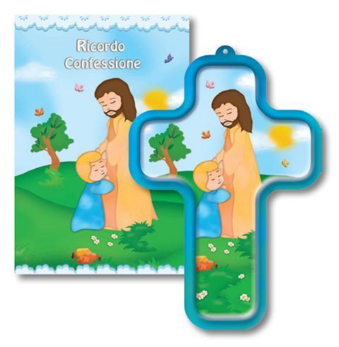 Libretto Ricordo Confessione con croce