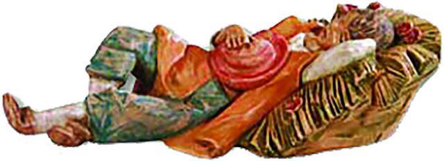 Pastore dormiente cm. 12