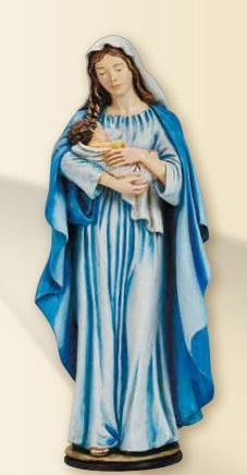 Madonna con Bimbo in resina cm. 30