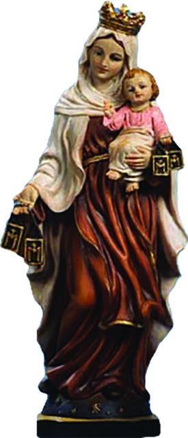 Madonna del Carmelo cm. 14