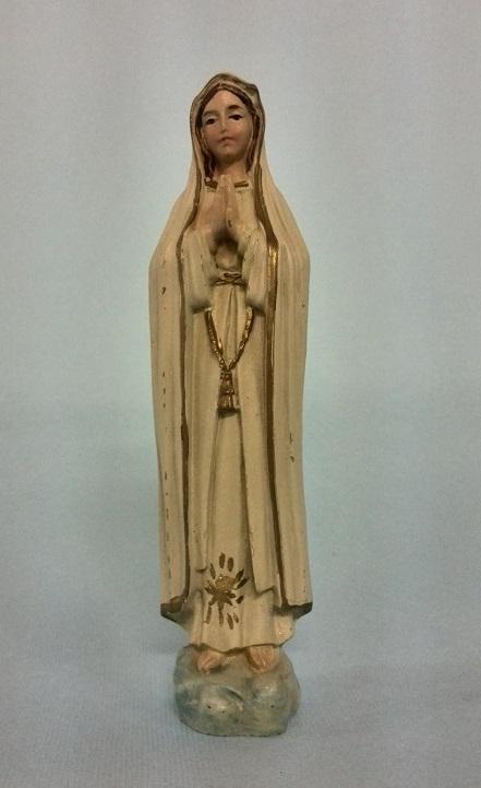 Madonna di Fatima cm. 12