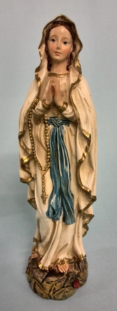 Madonna di Lourdes cm. 20
