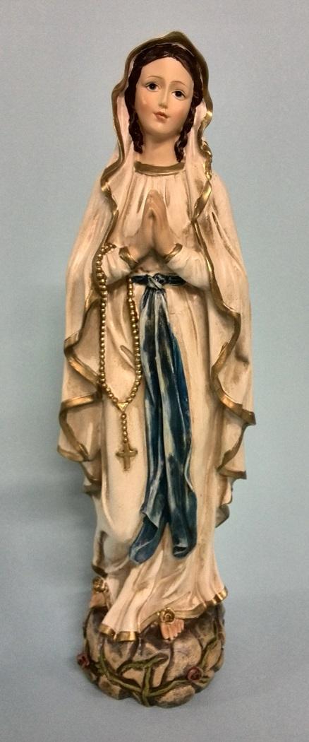 Madonna di Lourdes cm. 30