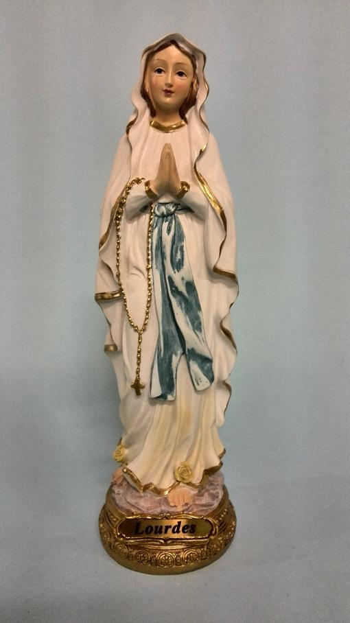 Madonna di Lourdes cm. 22