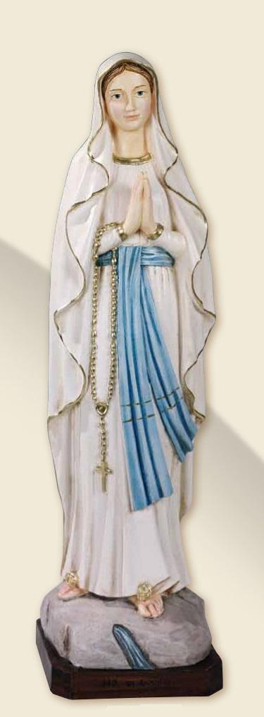 Madonna di Lourdes in resina cm. 80