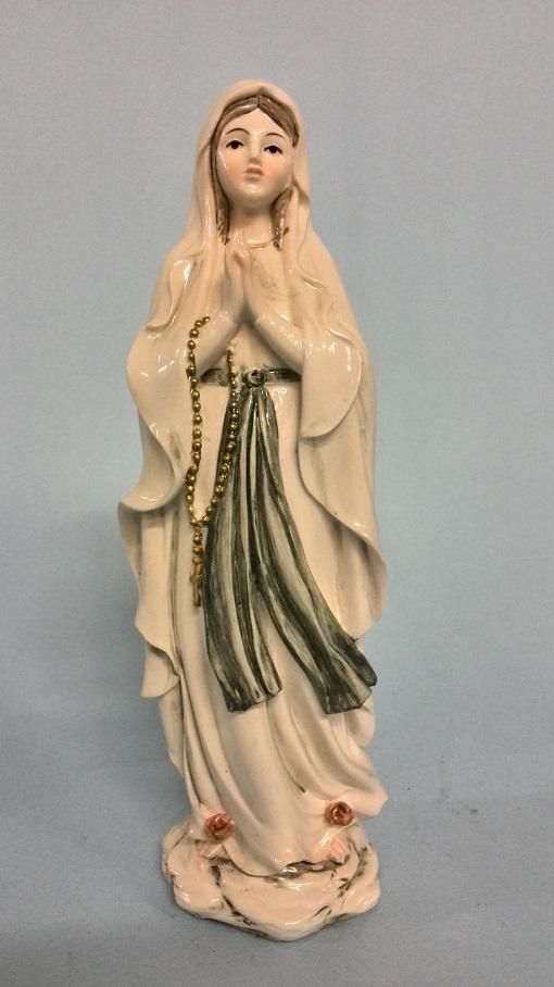 Madonna di Lourdes lucida cm. 20
