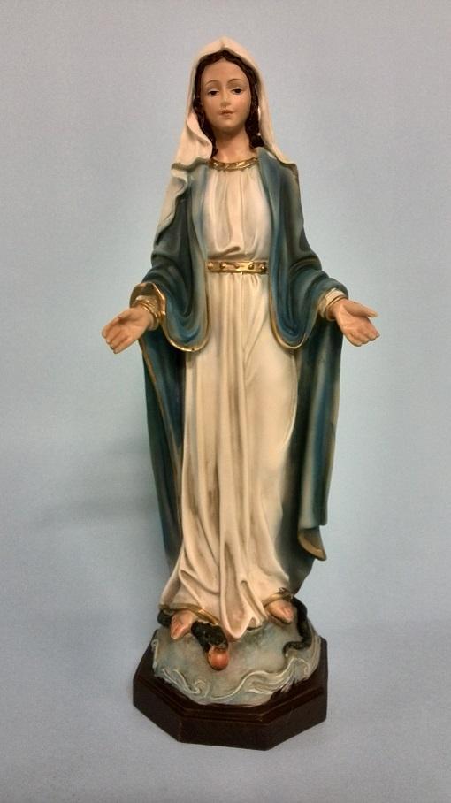 Madonna Miracolosa cm. 30