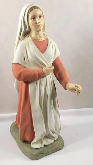 S. Bernadette in fiberglass cm. 63