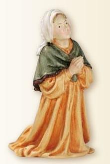 S. Bernardette in resina cm. 12