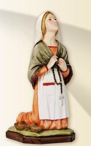 S. Bernardette in resina cm. 31