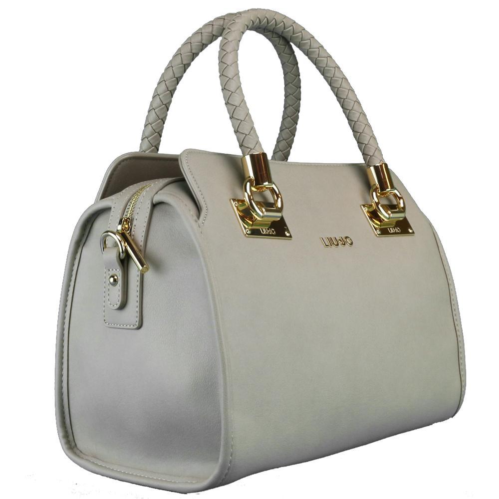 mas fiable venta caliente más nuevo hermosa en color Hand bag Liu Jo ANNA NAPPA N67084 E0003 PALE BROWN | LaBorsetteria.com