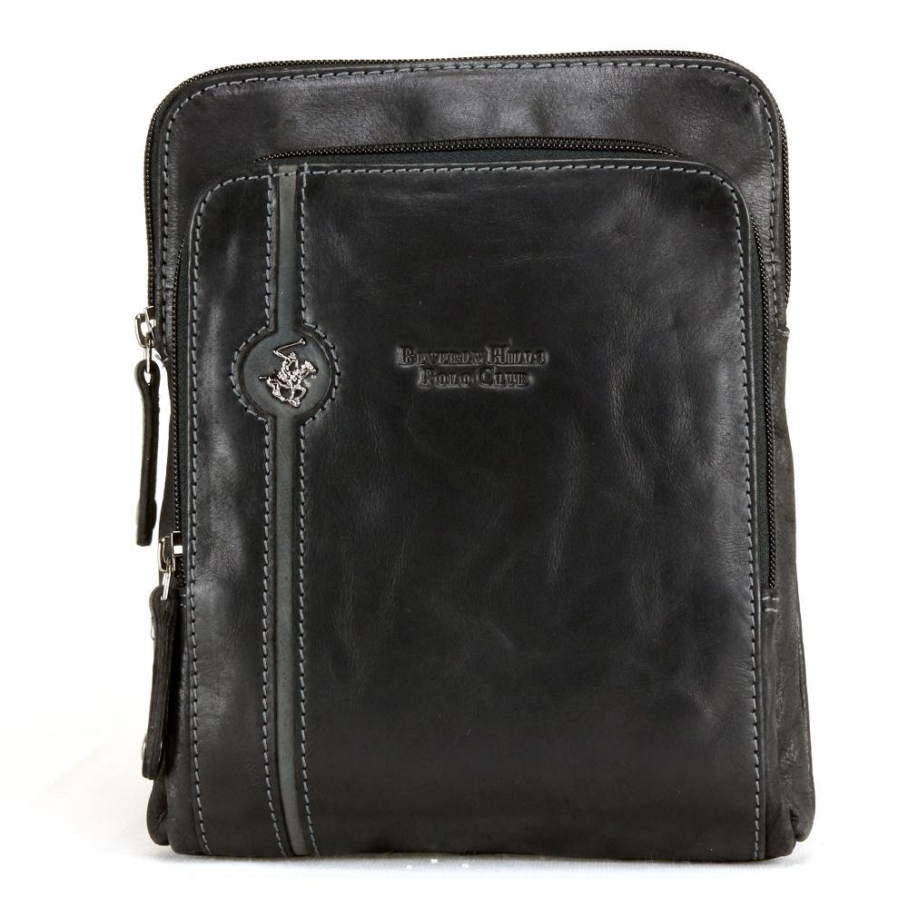 Shoulder bag Beverly Hills Polo Club EXPLORE BH-380 NERO