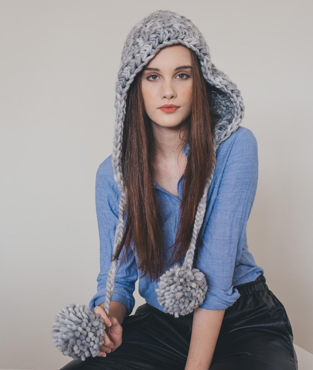 Hats, Beanies and Scarves - Wool - LILY HOOD - 1