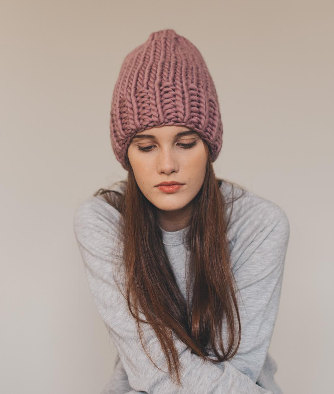 Cardigans and Vests  - WoolHats and Beanies - Wool - Betta Beanie - 1