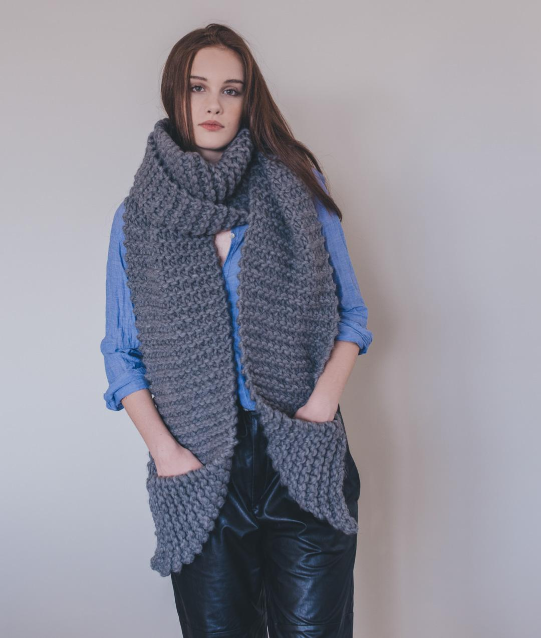 Patterns - Supplies - Aileen Scarf Pattern - 1