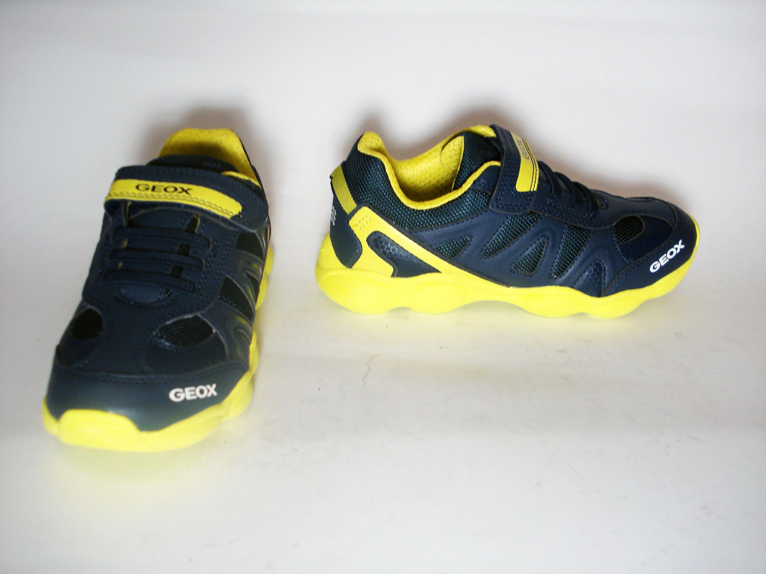 Sneaker navy/lime Geox