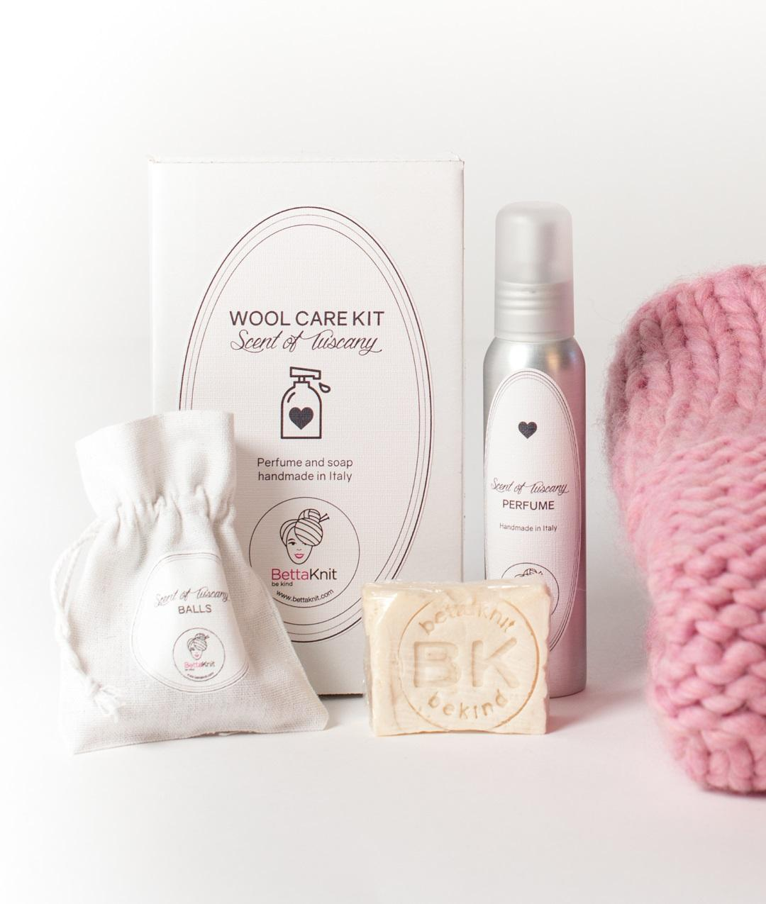 Kit Lavaggio lana  - Wool Care Kit - Scent of Tuscany - 1
