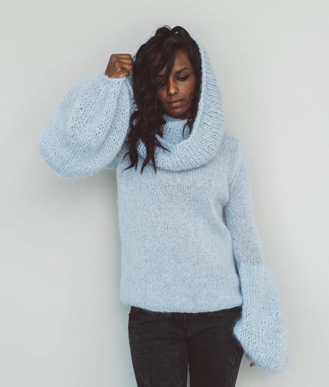 Sweaters and Tops - Wool - Infinity Sweater - 1
