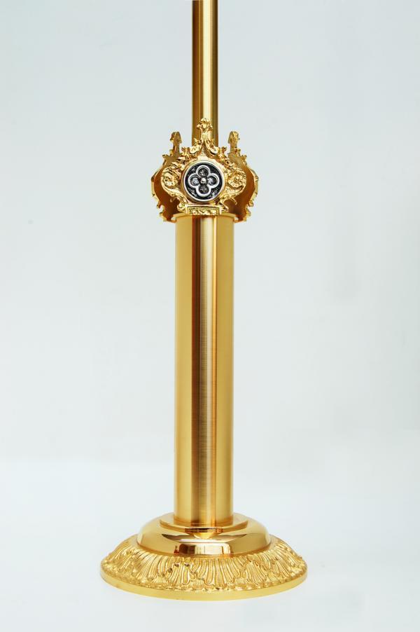 Croce Astile in Bronzo Bicolore GALF500