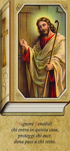 Gesù che bussa 10x21,5 (100 pz)