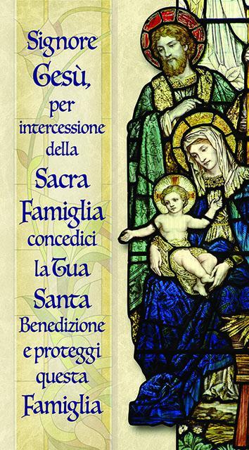 Sacra Famglia 12x22 oro (100 pz)
