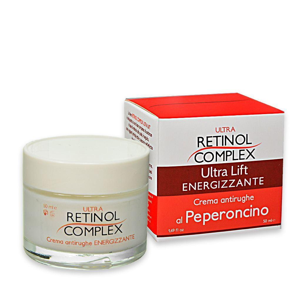 RETINOL COMPLEX-Crema antirughe ENERGIZZANTE con PEPERONCINO