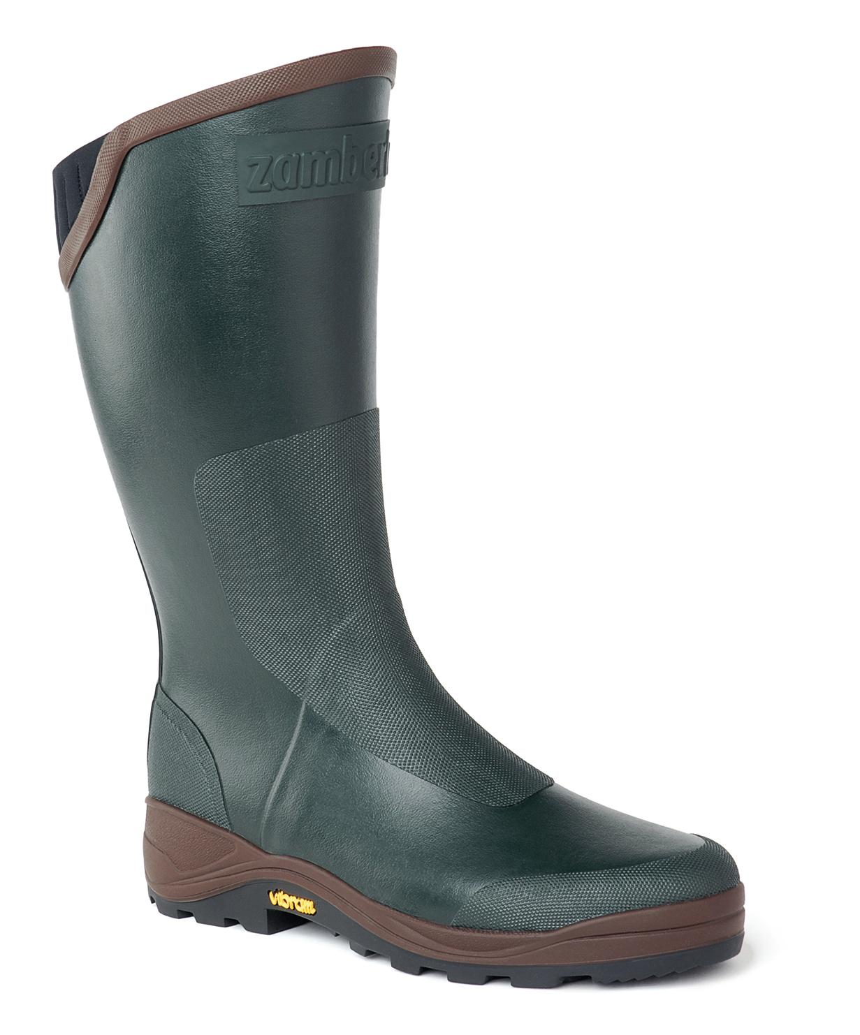 S31 BOOTS  TANZANIA P.   -   Bottes waders et cuissardes  Chasse     -   Dark Green